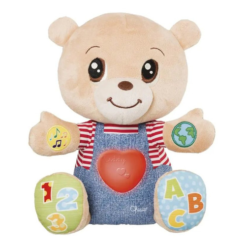 Интерактивная игрушка Chicco Говорящий мишка TeddyEmotion [00007947000180]