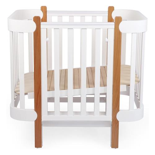 Кроватка-трансформер Happy Baby Mommy Lux, белый