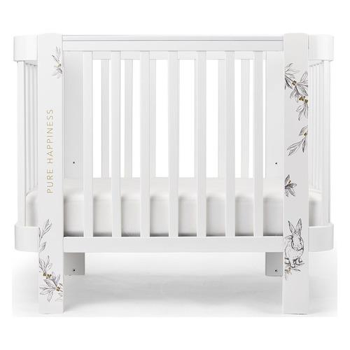 Кроватка Happy Baby Mommy Love, белый [95024]