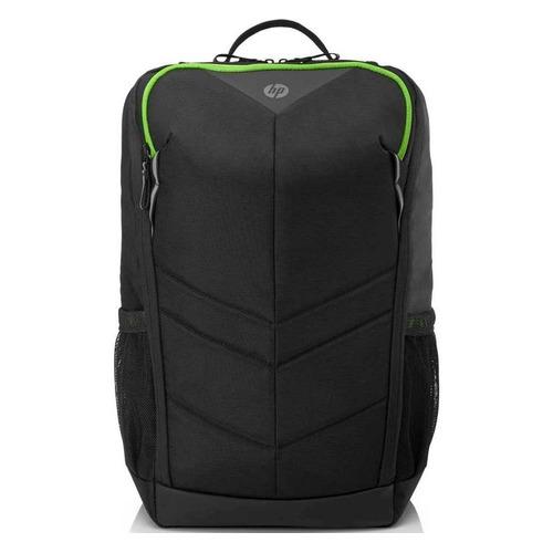 """Рюкзак 15.6"""" HP Pavilion Gaming 400, черный/зеленый [6eu57aa]"""