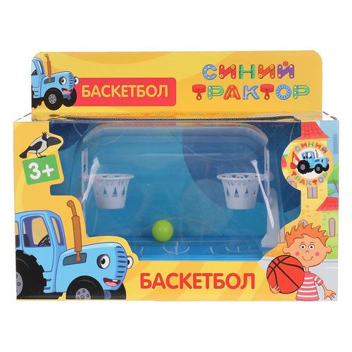 Настольная игра Играем вместе Синий трактор Баскетбол [1908s195-r2]