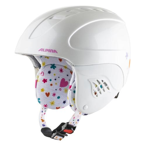Шлем г.л./сноуб. Alpina Carat р.:51-55 белый (A9035_62)