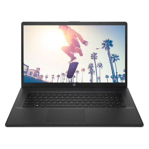 "Ноутбук HP 17-cp0092ur, 17.3"", AMD 3020e 1.2ГГц, 4ГБ, 256ГБ SSD, AMD Radeon , Free DOS 3.0, 4D4B6EA, черный"