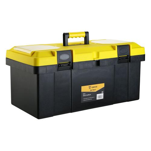 Ящик для инструментов DEKO DKTB41, желтый [065-0854]
