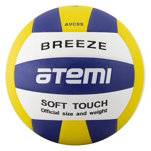 Мяч волейбольный ATEMI Breeze, универсальный, мультиколор
