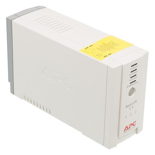 ИБП APC Back-UPS BK500EI, 500ВA ибп apc bk500ei back ups cs 500va 300w