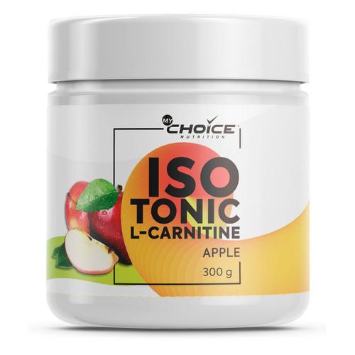 Изотоник MYCHOICE NUTRITION L-Carnitine, порошок, 300гр, яблоко