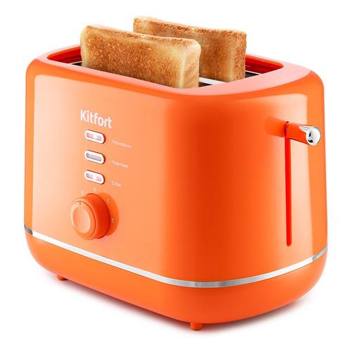 Тостер KitFort КТ-2050-4, оранжевый