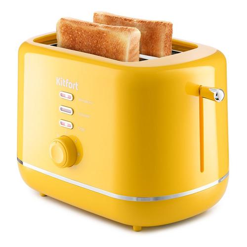 Тостер KitFort КТ-2050-5, желтый