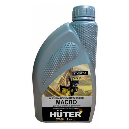 Фото - Моторное масло Huter 5W-30 5W-30 1л. синтетическое [73/8/1/2] моторное масло mitsubishi genuine oil 5w 30 1л синтетическое [mz320756]