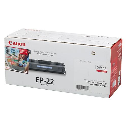 Картридж CANON EP-22, черный [1550a003]