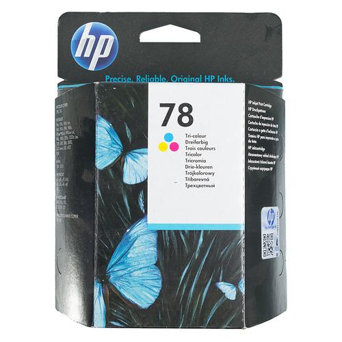 Картридж HP 78, многоцветный [c6578d] цена и фото