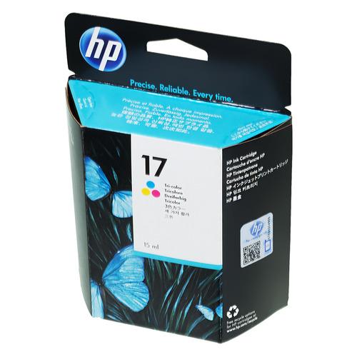 Картридж HP 17, многоцветный [c6625a] цена и фото