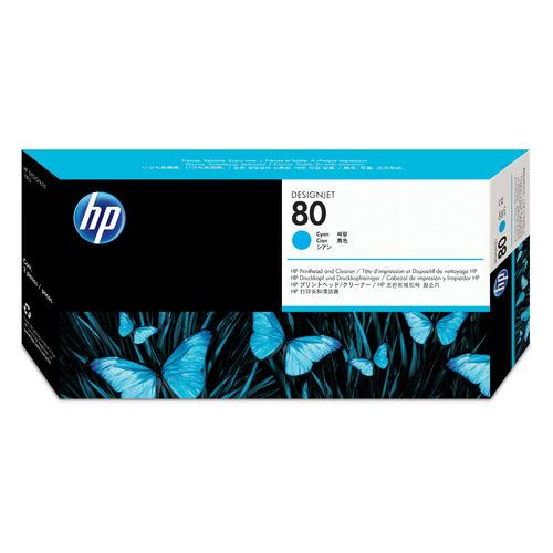 Печатающая головка HP 80 C4821A голубой для HP DJ 1050c/c plus/1055 dj bag djb k mini plus