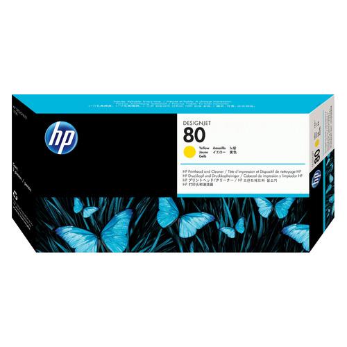 Печатающая головка HP 80 C4823A желтый для HP DJ 1050c/c plus/1055 dj bag djb k mini plus