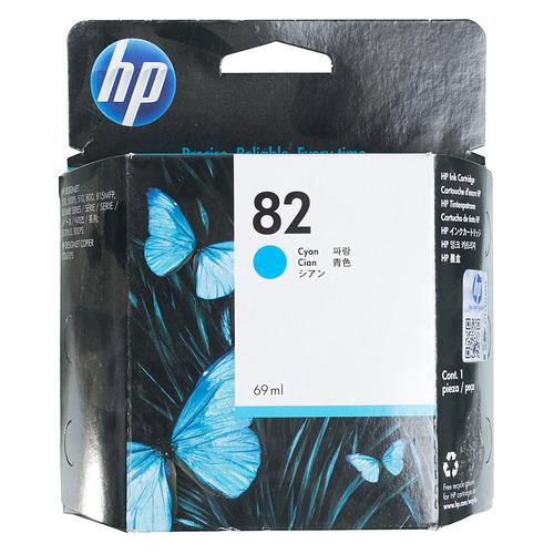 Картридж HP 82, голубой [c4911a]