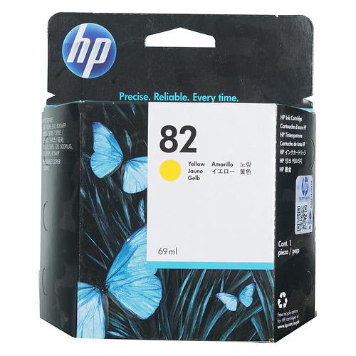Картридж HP 82, желтый / C4913A недорого