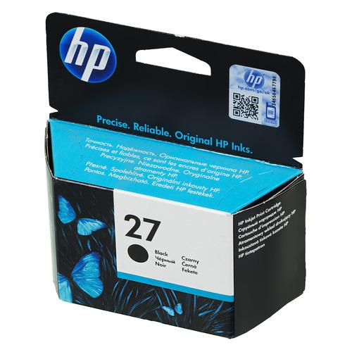 цена на Картридж HP 27, черный [c8727ae]