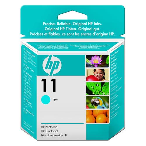 Картридж HP 11, голубой / C4836A