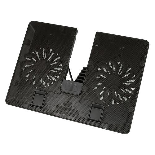 Фото - Подставка для ноутбука Deepcool U PAL (U-PAL) 15.6390x280x28мм 26дБ 1xUSB 2x 140ммFAN 765г пластик подставка для ноутбука deepcool u pal u pal 15 6 черная