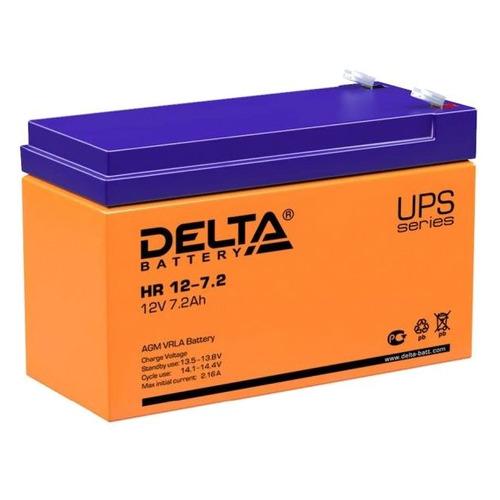Аккумуляторная батарея для ИБП Delta HR 12-7.2 12В, 7.2Ач