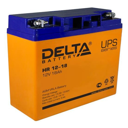 Аккумуляторная батарея для ИБП DELTA HR 12-18 12В, 18Ач
