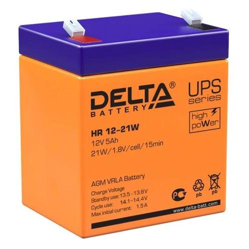 Аккумуляторная батарея для ИБП Delta HR 12-21 W 12В, 5Ач [hr 12-21w]