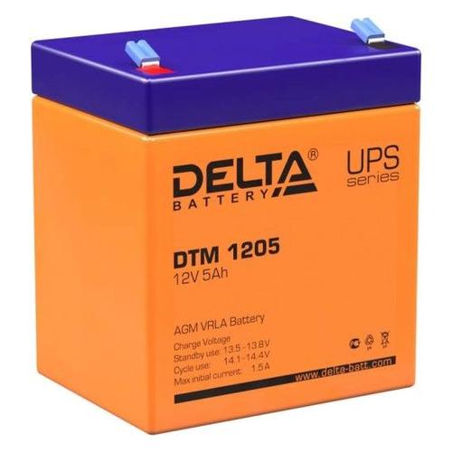 Аккумуляторная батарея для ИБП Delta DTM 1205 12В, 5Ач