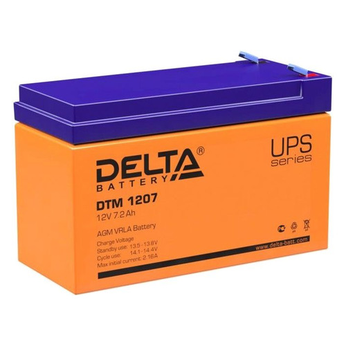 Аккумуляторная батарея для ИБП Delta DTM 1207 12В, 7.2Ач