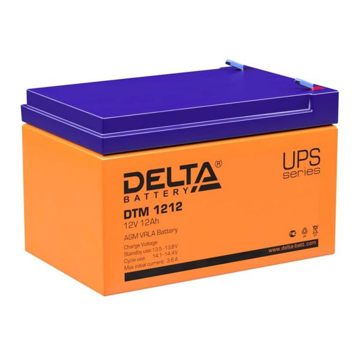 Аккумуляторная батарея для ИБП Delta DTM 1212 12В, 12Ач