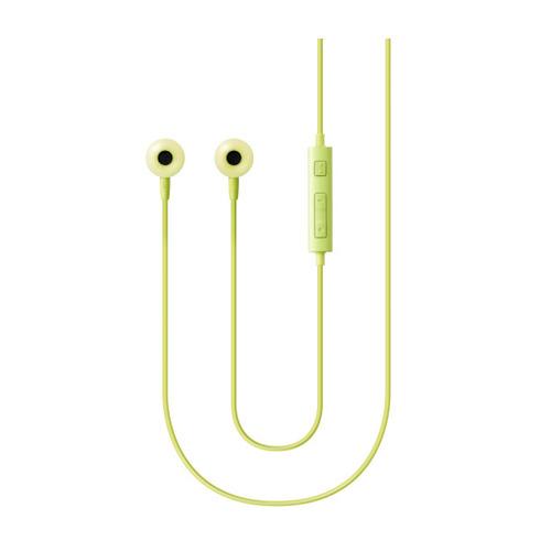 Наушники с микрофоном SAMSUNG EO-HS130, 3.5 мм, вкладыши, зеленый [eo-hs1303gegru] стоимость