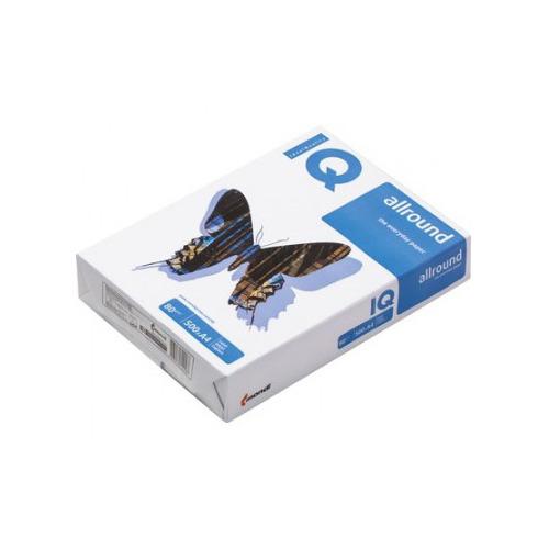 Бумага IQ Allround A4/80г/м2/500л./белый CIE162% матовое/матовое 5 шт./кор.