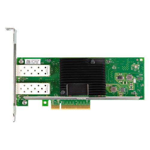 Сетевой адаптер Intel Original X710DA2BLK 2x10Gb\s SFP+ ports DA (X710DA2BLK 933217) сетевой адаптер intel e1g44htblk