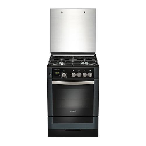 Газовая плита GEFEST ПГ 6300-03 0046, газовая духовка, стеклянная крышка, черный цена 2017