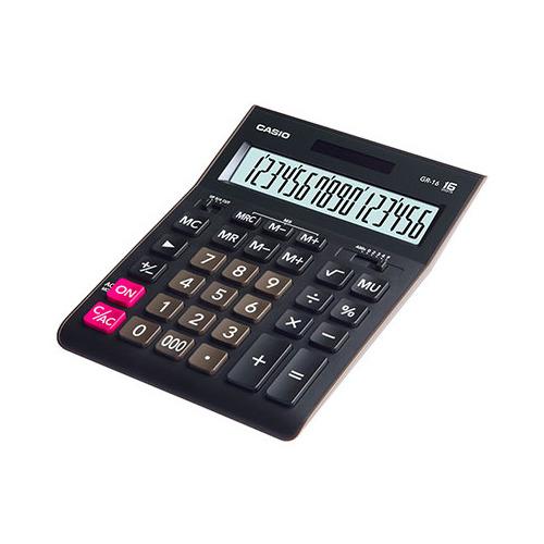 Калькулятор CASIO GR-16, 16-разрядный, черный kinklight 08592 16