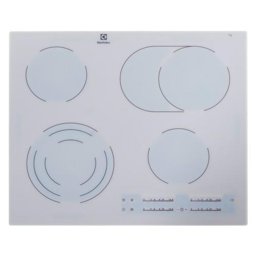 цена на Варочная панель ELECTROLUX EHF96547SW, Hi-Light, независимая, белый