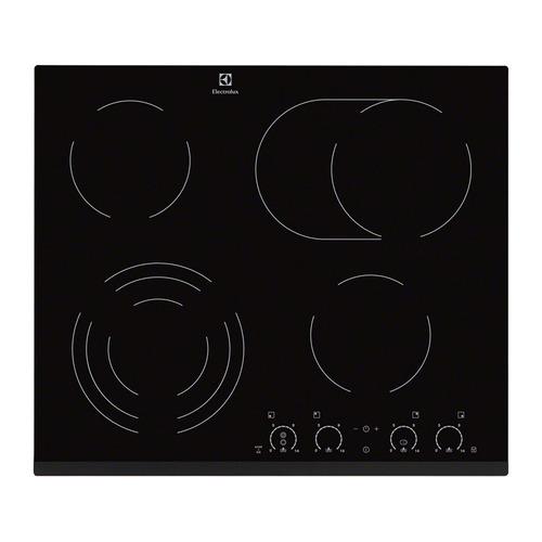 Варочная панель ELECTROLUX EHF56747FK, электрическая, независимая, черный все цены