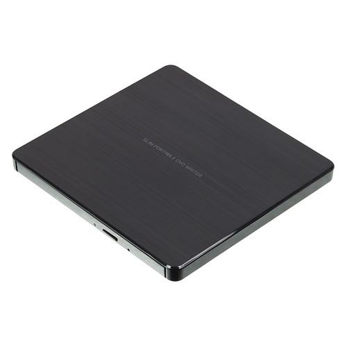 цена на Оптический привод DVD-RW LG GP60NB60, внешний, USB, черный, Ret