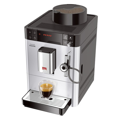 Кофемашина MELITTA Caffeo Passione, серебристый melitta caffeo passione