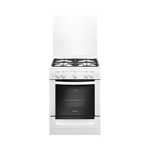 Газовая плита GEFEST ПГ 6100-01 0002, газовая духовка, белый газовая плита gefest пг 3200 08 газовая духовка белый