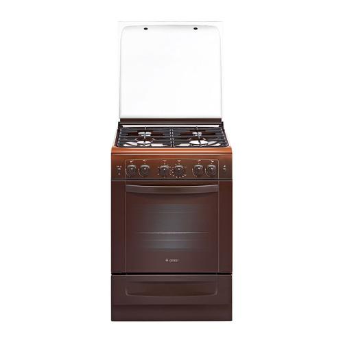 Газовая плита GEFEST 6100-02 0003, газовая духовка, коричневый [пг 6100-02 0003] все цены