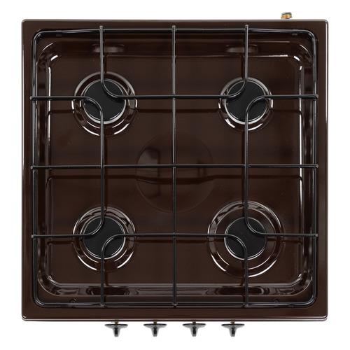 цена на Плита Газовая Gefest ПГ 900 К17 коричневый эмаль (настольная)