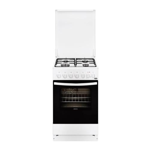 лучшая цена Газовая плита ZANUSSI ZCK9552G1W, электрическая духовка, белый