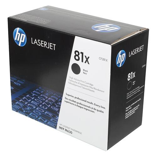 Картридж HP 81X, черный [cf281x] hp cf281x page 8