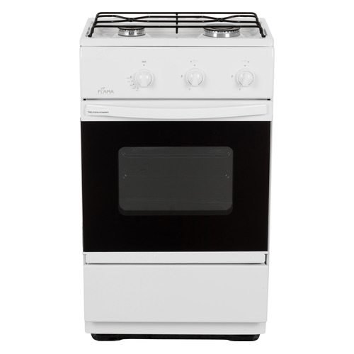 цена на Газовая плита FLAMA CG 3202 W, газовая духовка, белый [cg 3202 w/b]