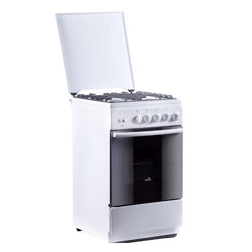 Газовая плита FLAMA FG 24211 W, газовая духовка, белый