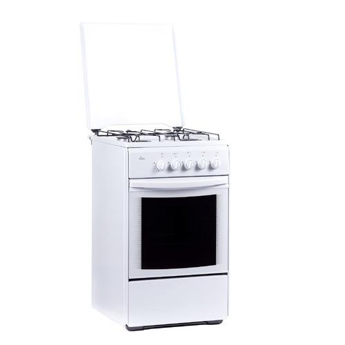 Газовая плита FLAMA RG 24022 W, газовая духовка, белый газовая плита flama rg 24022 w газовая духовка белый