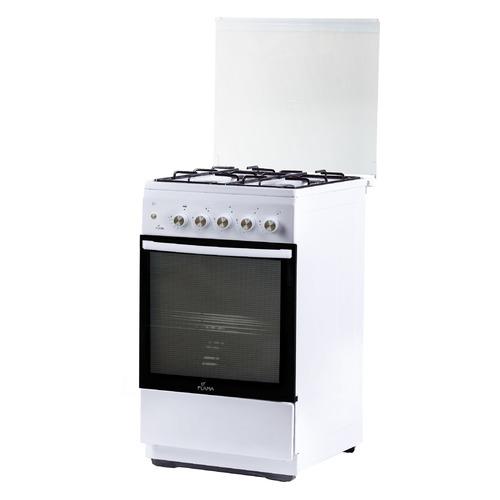 Газовая плита Flama FG 2411 W, газовая духовка, белый