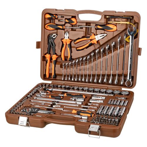 цена на Набор инструментов OMBRA OMT143SL, 143 предмета [55565]
