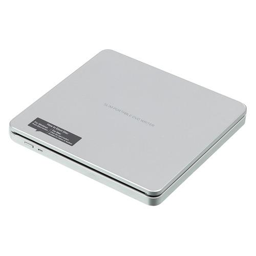 Оптический привод DVD-RW LG GP70NS50, внешний, USB, серебристый, Ret цена и фото